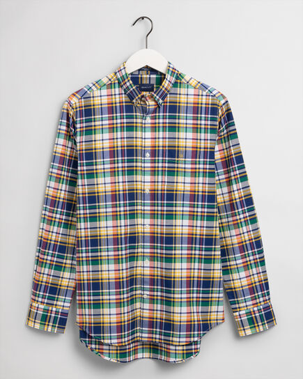 Camisa Oxford Regular Fit a cuadros escoceses